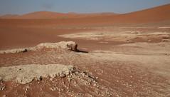 Sossusvlei Pan (peterkelly) Tags: digital canon 6d africa intrepidtravel capetowntovicfalls namibia namibdesert namibnaukluftreserve sossusvlei salt clay pan desert blue sky sandy sand