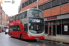 CityZap 3612 (Pavlos Andreas - Transport Photography) Tags: wrightbus wright eclipse gemini volvo b7tl transdev cityzap york leeds bus autobuz uk doubledecker
