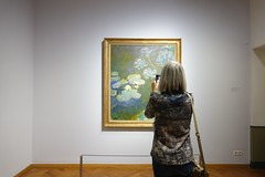 Monet (Gerard Stolk ( vers le toussaint)) Tags: thehague lahaye haag monet tentoonstelling denhaag kunstmuseum tuinenvanverbeelding