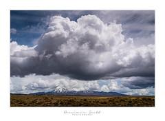 Storm Clouds Over Mount Ngauruhoe (Dominic Scott Photography) Tags: dominicscott newzealand mountain volcano mountngauruhoe mountdoom northisland clouds cloud storm weather volcanic desertroad leefilters manfrotto sony sel2470gm ilce7rm3