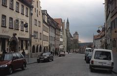 1992-04-29 Rothenburg (beranekp) Tags: deutschland germany rothenburg strasse street