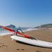 Surfboard at Sarigerme beach, Turkey