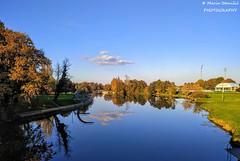 Karlovac, Croatia, River Korana - Autumn tranquility (Marin Stanišić Photography) Tags: karlovac croatia river korana autumn tranquility reflections karlovaccounty nikon d5500