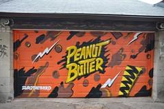 Ossington Laneway Mural Project, Humbert Street, Toronto, ON (Snuffy) Tags: ossingtonlaneway murals humbertstreet toronto ontario canada peanutbutter durothethird