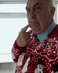 Inappropriate jumper 209-366 (13-4593) (♔ Georgie R) Tags: christmasjumper werehere wah hereio november