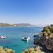 Kleine Bucht auf der Insel Baba Adasi, Türkei
