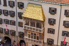 The Golden Roof, Innsbruck, Austria (mandyhedley) Tags: goldenroof innsbruck tirol austria oldtown landscape travel explore tour mountains goldenesdachl landmark emperormaximilian biancamariasforza