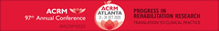 ACRM 97th Annual Conference ATLANTA 2020 (ACRM-Rehabilitation) Tags: acrm2020 acrm20 acrm atlanta rehabilitation research rehabilitationresearch medicalconference continuingeducation