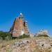 Old lighthouse on Baba Adasi island, Turkey