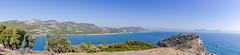 Panoramic view of Sarigerme, Turkey