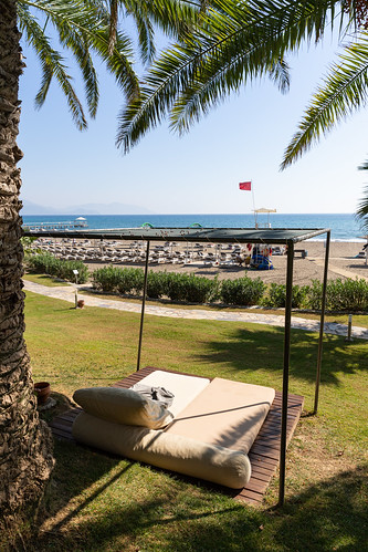 Daybeds in Robinson Club Sarigerme Park, Turkey