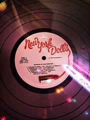 New York Dolls Tabletop (Twang Your Head) Tags: hipstamatic jane art music happy