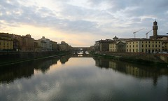 Florence, Italy (nature chief) Tags: florence firenze river reflection arno フィレンツェ イタリア