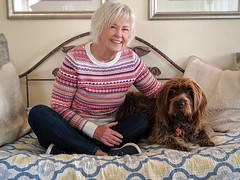 Sandy and Gracie, our best friends (Bennilover) Tags: sandy best friends buds fun smileonsaturday peopleandpets long friendship years dog wirehairedpointinggriffon gracie bffs