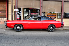 Charger (See Bullitt for fantasy) (Les Traveller) Tags: mariposa california gowest festival