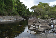 Basalt and granite, Golden Hole, near Babinda, QLD, 30/10/19 (Russell Cumming) Tags: rock basalt granite goldenhole babinda cairns queensland