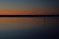 another postcard (liebeslakritze) Tags: kiel falkenstein leuchtturm lighthouse balticsea ostsee kielfjord sunset sundown sonnenuntergang
