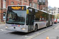 First York 11112 (Pavlos Andreas - Transport Photography) Tags: mercedes citaro gelenk gelenkbus york bus autobuz uk first