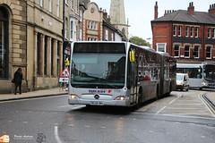 First York 11106 (Pavlos Andreas - Transport Photography) Tags: mercedes citaro gelenk gelenkbus york bus autobuz uk first