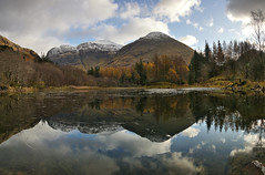 Torren Lochan Reflection (Lady Debra) Tags: nature photography visitscotland highlands travelphotography landscape uk naturephotography mountains adventure beautiful explore landscapephotography scotlandsbeauty sony nisi reflection