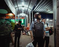 Backbacks (Cadicxv8) Tags: bus station bahnhof vietnam saigon people wating life passenger travel