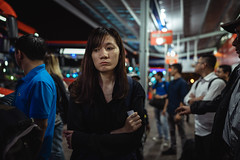 Night cold (Cadicxv8) Tags: bus station bahnhof vietnam saigon people wating life passenger travel