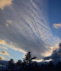 2019_1115Odd-Sunset-Pano0002 (maineman152 (Lou)) Tags: northconwaynewhampshire panorama sunsetpanorama sunsetsky nature naturephoto naturephotography landscape landscapephoto landscapephotography novembersunset november