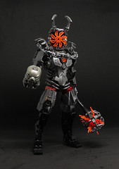 Malice (JakTheMad) Tags: bionicastlecontest lego afol moc tfol bionicle castle legocastle legobionicle malice hell guardian