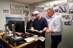 Michael Duncan, left, and Bill Jablonski (OregonDOT) Tags: oregondot odotpeople astoria