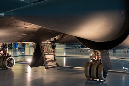 SR-71 Landing Gear and Entry Door