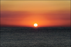 Another Day, Another Sunrise   Blanes, Catalonia (Flemming J. Gade) Tags: sunrise orange sky sea mediterranean blanes catalonia