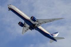 VQ-BUA - Boeing 777-300ER - Aeroflot (Zhuravlev Nikita) Tags: spotting elizovo kamchatka uhpp pkc boeing 777 77w b77w aeroflot afl su