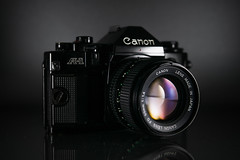 Canon A-1 (obsoletecameras) Tags: obsolete cameras canon a1 film camera 35mm slr 50mm f14 fd lens product photography vintage retro old new