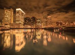 Boston Panorama 11/14/2019 (Eric Wehmeyer) Tags: boston longexposure nikon night reallyrightstuff water city