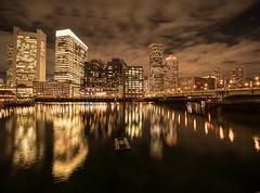 Boston Crazy Night on the water 11/14/2019 (Eric Wehmeyer) Tags: night water boston longexposure nikon reallyrightstuff city