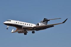 Hum-Air Too LLC (Nike) Gulfstream G600 (N1KE) LAX Approach 1 (hsckcwong) Tags: humairtoollc nike gulfstream g600 gvi n1ke lax klax