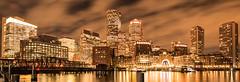 (Eric Wehmeyer) Tags: nikon reallyrightstuff boston water night city longexposure panorama