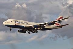British Airways One World Livery 747-436 (G-CIVZ) LAX Approach 2 (hsckcwong) Tags: britishairways 747436 747400 747 oneworldlivery gcivz lax klax