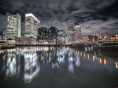 (Eric Wehmeyer) Tags: boston longexposure nikon night reallyrightstuff water city