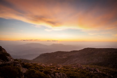Sunset From Mt Buffalo || VIC || AUSTRALIA (rhyspope) Tags: australia mountbuffalo mtbuffalo mount mt buffalo rhys pope rhyspope canon 5d mkii sunset nature mountain view vista sky clouds color colour