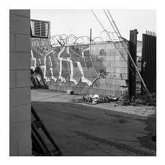 Pain (ADMurr) Tags: la eastside vernon hasselblad 500cm 50mm zeiss distagon ilford 125 bw dba399