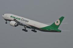EVA Air Cargo 777-F5E (B-16785) LAX Takeoff 3 (hsckcwong) Tags: evaaircargo evaair 777f5e 777f 777freighterb16785 lax klax