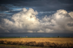 Clouds over Oklahoma. (donnieking1811) Tags: oklahoma landscape outdoors clouds sky amber hdr canon 60d lightroom photomatixpro