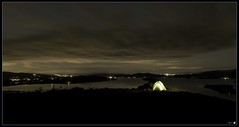 Above them all.... (tiggerpics2010) Tags: scotland lochlomond conichill westhighlandway tent camping night islands