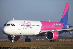 HA-LVG | Airbus A321-271NX | Wizz Air (james.ronayne) Tags: halvg airbus a321271nx wizz air a21n wzz w6 8997 aeroplane airplane plane aircraft luton ltn eggw canon 100400mm raw stunning gorgeous beautiful sharp sunny bright 5ds airliner airline passenger pax