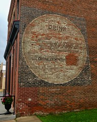 Drink Squirt, Wabasha, MN (Robby Virus) Tags: wabasha minnesota mn ghost sign signage ad advertisement painted brick wall faded squirt soft drink quality