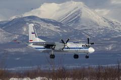 RA-26276 - Antonov An-26 - Federal Security Service (FSB) of the Russian Federation (Zhuravlev Nikita) Tags: spotting elizovo kamchatka uhpp pkc antonov an26 fss fsb