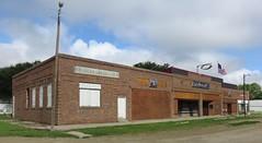 Storefront Block (Witten, South Dakota) (courthouselover) Tags: southdakota sd us unitedstates northamerica witten greatplains trippcounty westriversouthdakota banks