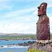 Chile-02803M - First Moai...