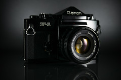 Canon F-1 (obsoletecameras) Tags: obsolete cameras film camera canon f1 50mm f18 fd lens photography 35mm